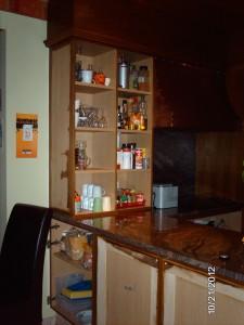 Opendeur in de keuken