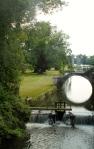 Een verboden foto vanuit het kasteel richting aquaduct