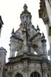 één van de vele torens van Chambord, die moeten het magere interieur een beetje doen vergeten