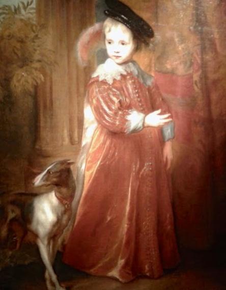 één van Rubens' kinderen